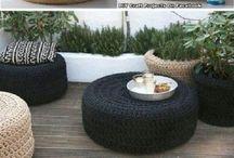 sedenie z pneumatiky