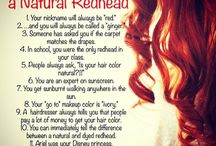 the joys of being a redhead