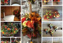 FALL WEDDING FLOWERS - Dragonfly Floral / Fall Wedding Flowers