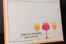 Вино открытки