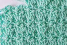 Cabbage crochet stitch.