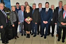 Harald Emmrich wird ausgezeichnet amTag des Ehrenamts beim Fußballverband Rheinland