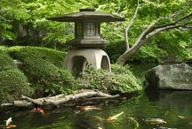 Turning Japanese / I really love Japanese Gardens, and would LOVE to have one someday.   Japanese Gardens, Culture, and Design  / by Michele Enderle