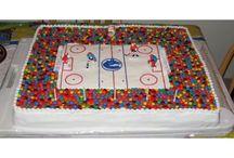 Cole's hockey party