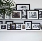 Hanging family pictures