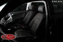 Audi A3 8P Sportback - Design Paris / Audi A3 8P Sportback nach der Montage von unseren maßgefertigten Sitzbezügen.  Design der Sitzbezüge: Paris: Leder-Optik (ZACASi Lederimitat) schwarz - mit vorher-Fotos  Mehr Bilder seht Ihr auf www.seat-styler.de/fotos-audi-a3-8p/