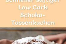 Schoko Tassen Kuchen Lowcarb