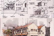 Sketsa arsitekture