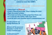 Elmer's Holiday Pin & Win