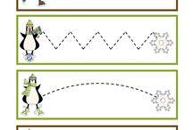 Tučňáci aktivity