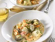 plat poisson crustaces