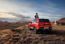 Renault Kadjar / Kadjar ist ein geräumiger SUV, der sich ausgezeichnet sowohl auf befestigten Strassen als auch im Gelände bewährt