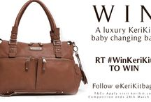 Competition Win a Luxury Baby Changing Bag / Visit us on Twitter @KeriKitbags and get the chance to win a KeriKit luxury baby changing bag. See the large, luxury baby changing bags on www.kerikit.com and see how they change into a statement handbag and weekend bag.