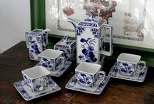 Porzellan-Deko / Hochwertige Deko-Gegenstände aus Porzellan.