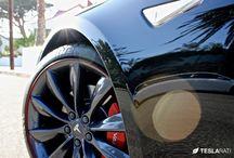 Teslarati .com - Wheel Bands Review: Tesla Model S Curb Rash Protection / http://www.teslarati.com/wheel-bands-review-tesla-model-s-curb-rash-protection/