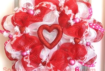 Valentine's Day Wreaths 2012 / by Southern Charm Wreaths