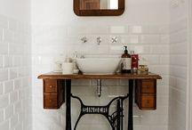 Bathrooms art deco