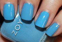 Blue polishes