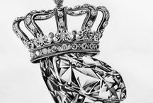 Diamond an crown