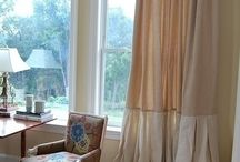 Curtains Inspiration / Window Treatments Ideas