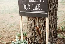 posting signs