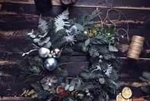Christmas / Flowers, wreaths, gifts, decor