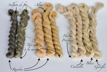Teintures naturelles - Natural dyes