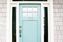 Front Door Colors / The Color of you Front Door is Powerful for Finances when combined with incoming Energy and Direction!