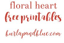 Printables, Fonts & Art / Lots of printables, art pictures / images, font downloads (mostly free), for décor, crafts, wedding invitations, handwriting, calligraphy etc.