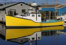 Working Fishing Boats