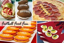SUPERBOWL PARTY FOOD TABLE