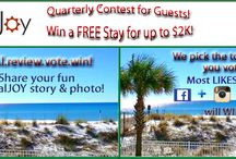 RealJoy Vacation Specials / View special deals, contests, and discounts from RealJoy Vacations