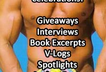 We Turn 2. Yay! Celebrations. / Our blog has been in full swing for 2 years October 6th, 2014. Very exciting. To celebrate, we have giveaways, interviews, book excerpts, v-logs, authors posts with some fabulous authors of some even more fabulous books. Stop by and join on in. We'd love to hear from you