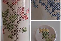Keramikk med andre materialer