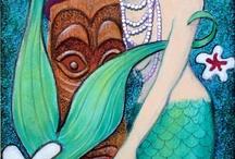 Mermaid Art / by Kim Ellington