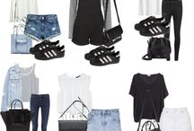 Black Adidas sneakers outfits