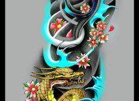 Asian style sleeve