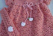 Vestidos de crochês