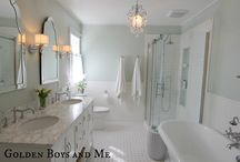 Bathroom re-do ideas / by Mary Cretu