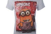 Minions / Τα Minions έιναι εδώ... με θεότρελα σχέδια που θα τα φοράς μέχρι τελικής πτώσης. Φτιάξε την διάθεσή σου με τα υπέροχα T-shirts Minions και με τιμές πραγματικά μινιόν..!!!!