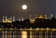 Istanbul'da Ay