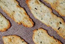 Homemade crackers/flatbread