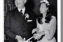 vintage celebrity weddings