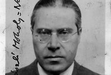 László Moholy-Nagy (1895 – 1946) / Hungarian painter and photographer as well as a professor in the Bauhaus school