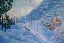 nilgun yilmaz oil painting