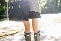 rain boots / by Angela H