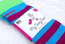 socks / High quality, fun and mismatched athletic socks. www.MySoxyFeet.com to purchase. #MySoxyFeet #running #athletic #socks