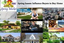 Spring Season Influence Buyers to Buy Home / The home buying season is expected to be a busy one with less mortgage.Russ Whitney Suggests some of the factors that are likely to influence buyers.