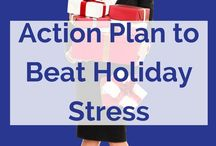 How to Enjoy the Holidays / Read my guest post over at @MySideof50 to get your action plan to beat holiday stress.