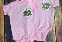 YounInk Boutique / All things monogrammed and personalized from newborn to 3X! Custom orders always welcome! Send us your ideas and we can bring them to life! / by Lauren Brooks